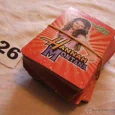 Barajas de cartas: GRAN LOTE DE CARTAS DE HANNA MONTANA - ENVIO GRATIS A ESPAÑA . Lote 41427169