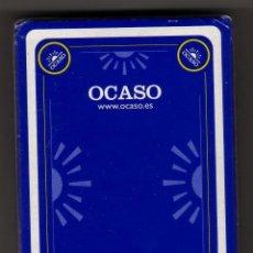 Barajas de cartas: NAIPE ESPAÑOL FOURNIER BARAJA OCASO PRECINTADA. Lote 41431949
