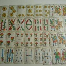 Barajas de cartas: ANTIGUA BARAJA ESPAÑOLA. MAS REYNALS NAIPES BARCELONA ESPAÑA. Lote 41439042