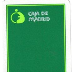 Barajas de cartas: BARAJA ESPAÑOLA PUBLICITARIA CAJA MADRID-6.-FOURNIER. Lote 41457700