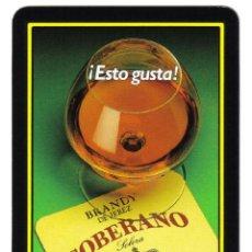 Barajas de cartas: BARAJA ESPAÑOLA PUBLICITARIA BRANDY SOBERANO-FOURNIER. Lote 41595420
