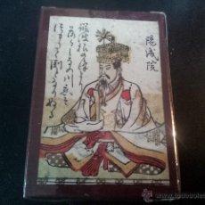 Barajas de cartas: BARAJA NUEVA HYAKUNIN ISSHU UTA KARUTA JAPON SIGLO XVIII - 1750 FASCIMIL. Lote 41610101