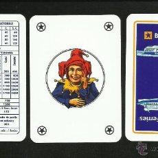 Barajas de cartas: 2 JUEGOS - BARAJAS DE CARTAS DE POKER- BLUE STAR FERRIES BARCOS- EN ESTUCHE - BARAJA. Lote 41662455