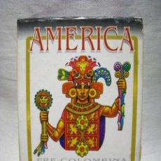 Barajas de cartas: BARAJA POKER CARTAS NAIPES - AMERICA PRE-COLOMBINA - FOURNIER. Lote 41667942