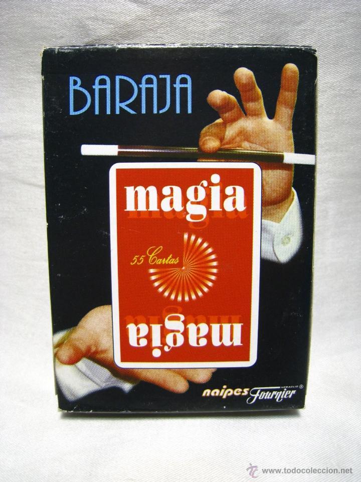 BARAJA POKER CARTAS NAIPES - MAGIA - FOURNIER (Juguetes y Juegos - Cartas y Naipes - Barajas de Póker)