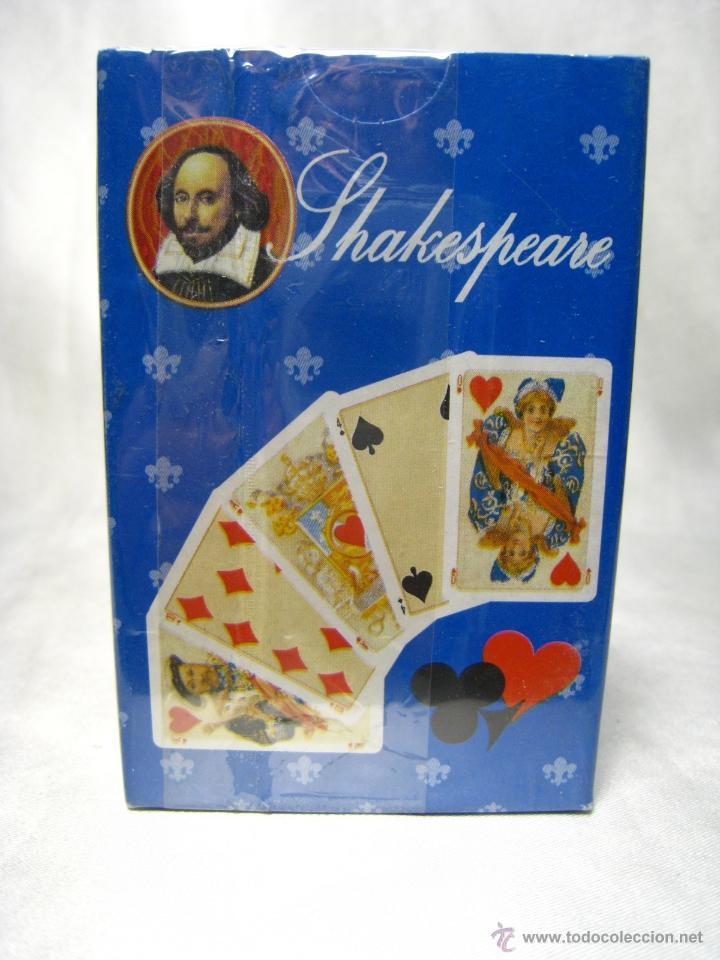 BARAJA POKER CARTAS NAIPES - SHAKESPERARE - FOURNIER (Juguetes y Juegos - Cartas y Naipes - Barajas de Póker)