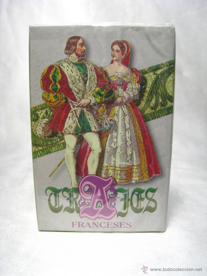 BARAJA POKER CARTAS NAIPES - TRAJES FRANCESES - FOURNIER (Juguetes y Juegos - Cartas y Naipes - Barajas de Póker)