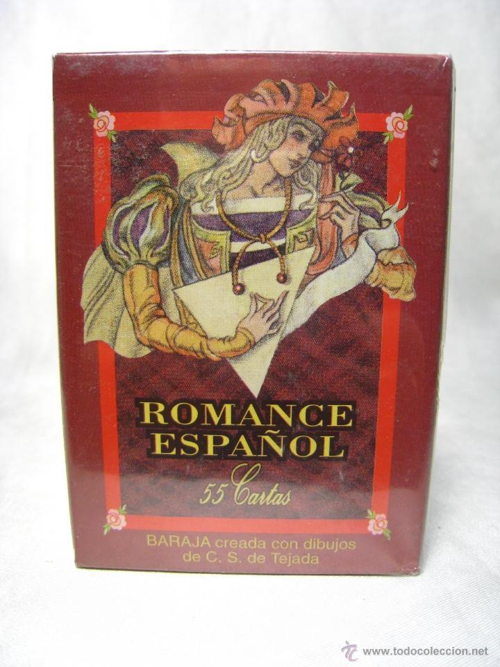 BARAJA POKER CARTAS NAIPES - ROMANCE ESPAÑOL - FOURNIER (Juguetes y Juegos - Cartas y Naipes - Barajas de Póker)