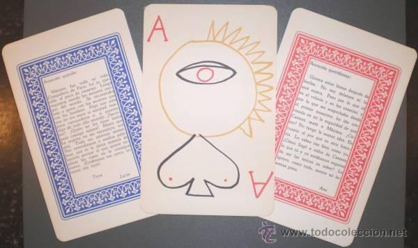 AUB, MAX: JUEGO DE CARTAS. DIBUJOS: JUSEP TORRES CAMPALANS. (Juguetes y Juegos - Cartas y Naipes - Otras Barajas)