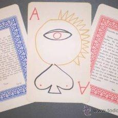 Barajas de cartas: AUB, MAX: JUEGO DE CARTAS. DIBUJOS: JUSEP TORRES CAMPALANS.. Lote 41668128