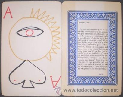Barajas de cartas: AUB, Max: JUEGO DE CARTAS. Dibujos: Jusep Torres Campalans. - Foto 3 - 41668128