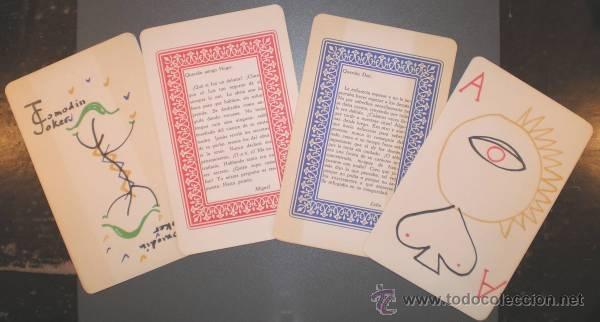Barajas de cartas: AUB, Max: JUEGO DE CARTAS. Dibujos: Jusep Torres Campalans. - Foto 5 - 41668128