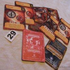 Barajas de cartas: GRAN LOTE DE CARTAS GIGANTES DRAGONES - ENVIO GRATIS A ESPAÑA . Lote 41677247