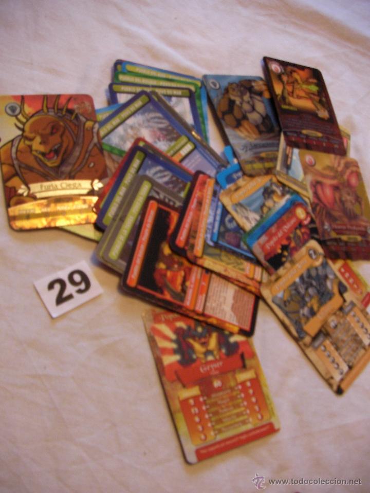 GRAN LOTE DE CARTAS GORMITI - ENVIO GRATIS A ESPAÑA (Juguetes y Juegos - Cartas y Naipes - Otras Barajas)