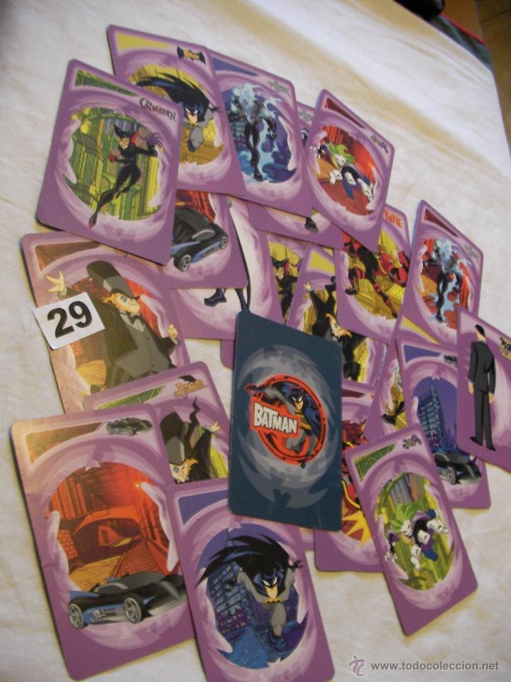 GRAN LOTE DE CARTAS BATMAN - ENVIO GRATIS A ESPAÑA (Juguetes y Juegos - Cartas y Naipes - Otras Barajas)