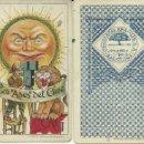 Barajas de cartas: (CHO-57)BARAJA CHOCOLATE NAIPE CROMO AMATLLER LOS ASES DEL CINE A 5 EUROS EL NAIPE. Lote 160380490