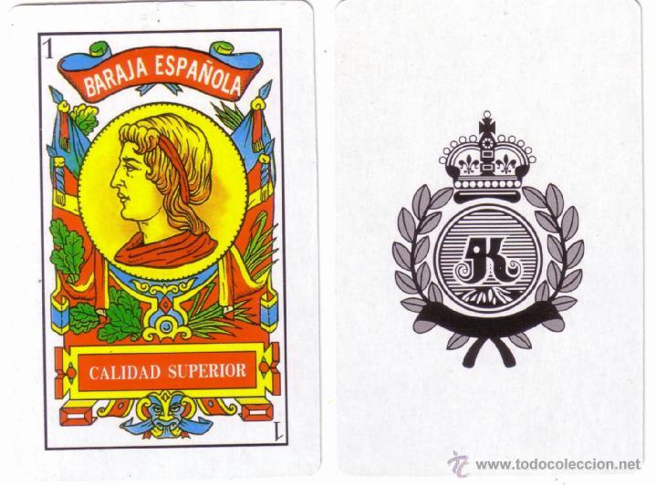 BARAJA DE NAIPES ESPAÑOLA CON PUBLICIDAD * PALACIOS/CARNE DE CERDO *. NUEVA SIN USAR. (Juguetes y Juegos - Cartas y Naipes - Otras Barajas)