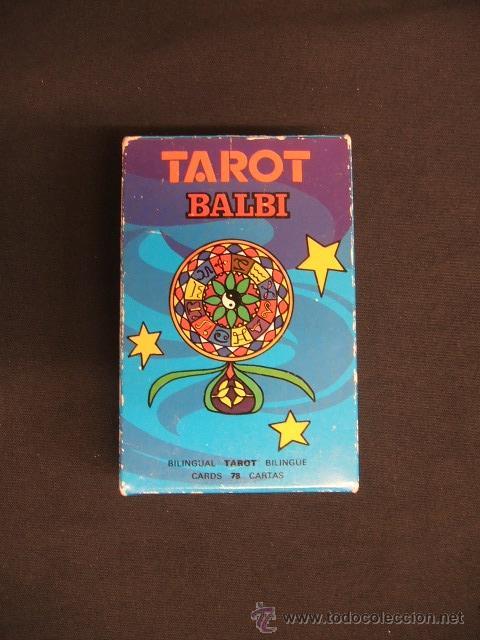 TAROT BALBI - HERACLIO FOURNIER - COMPLETO + INSTRUCCIONES - (Juguetes y Juegos - Cartas y Naipes - Barajas Tarot)