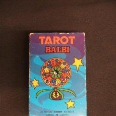 Barajas de cartas: TAROT BALBI - HERACLIO FOURNIER - COMPLETO + INSTRUCCIONES - . Lote 41742207