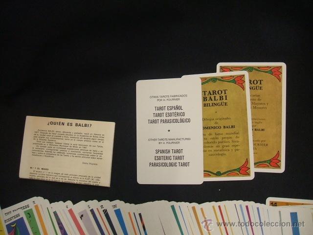 Barajas de cartas: TAROT BALBI - HERACLIO FOURNIER - COMPLETO + INSTRUCCIONES - - Foto 6 - 41742207