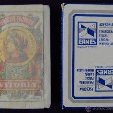 Barajas de cartas: BARAJA FOURNIER PUBLICITARIA -ASESORIA ERNE- SIN USAR.. Lote 41759317