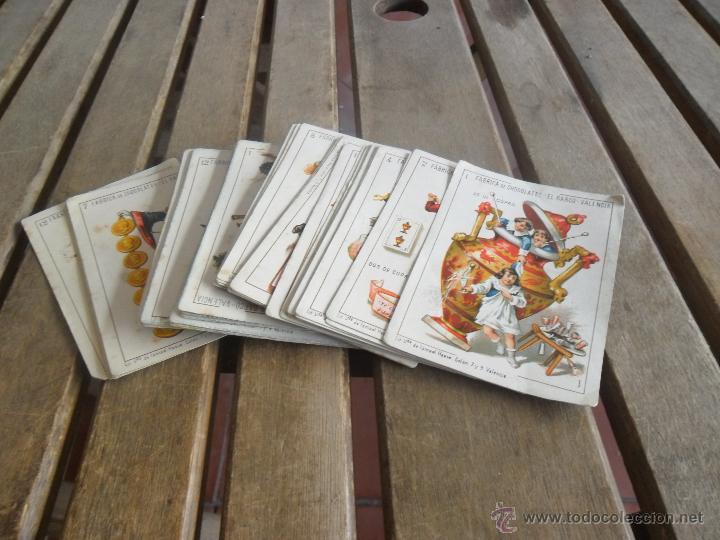 BARAJA DE CARTAS COMPLETA FABRICA DE CHOCOLATES EL BARCO VALENCIA LA GRANDE (Juguetes y Juegos - Cartas y Naipes - Baraja Española)