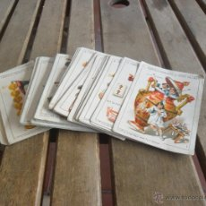Barajas de cartas: BARAJA DE CARTAS COMPLETA FABRICA DE CHOCOLATES EL BARCO VALENCIA LA GRANDE . Lote 41781996