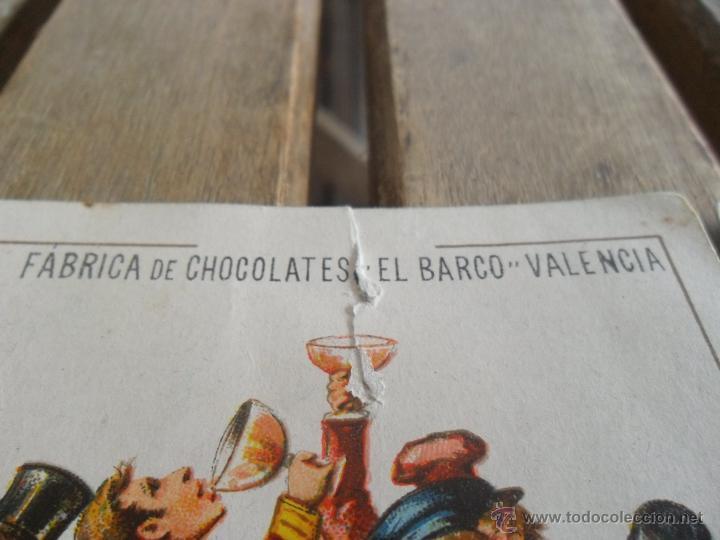 Barajas de cartas: BARAJA DE CARTAS COMPLETA FABRICA DE CHOCOLATES EL BARCO VALENCIA LA GRANDE - Foto 4 - 41781996