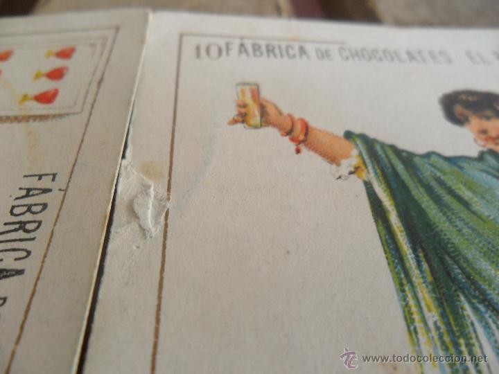 Barajas de cartas: BARAJA DE CARTAS COMPLETA FABRICA DE CHOCOLATES EL BARCO VALENCIA LA GRANDE - Foto 7 - 41781996
