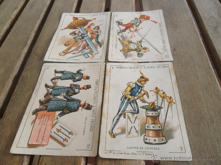 Barajas de cartas: BARAJA DE CARTAS COMPLETA FABRICA DE CHOCOLATES EL BARCO VALENCIA LA GRANDE - Foto 8 - 41781996
