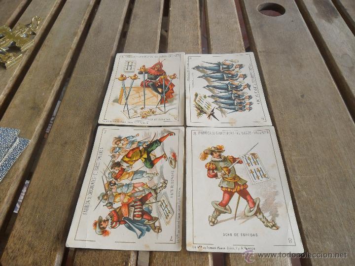 Barajas de cartas: BARAJA DE CARTAS COMPLETA FABRICA DE CHOCOLATES EL BARCO VALENCIA LA GRANDE - Foto 9 - 41781996