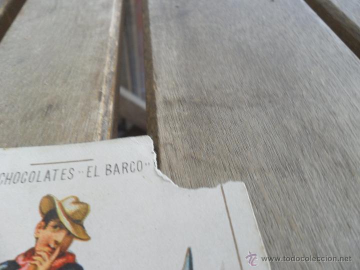Barajas de cartas: BARAJA DE CARTAS COMPLETA FABRICA DE CHOCOLATES EL BARCO VALENCIA LA GRANDE - Foto 11 - 41781996