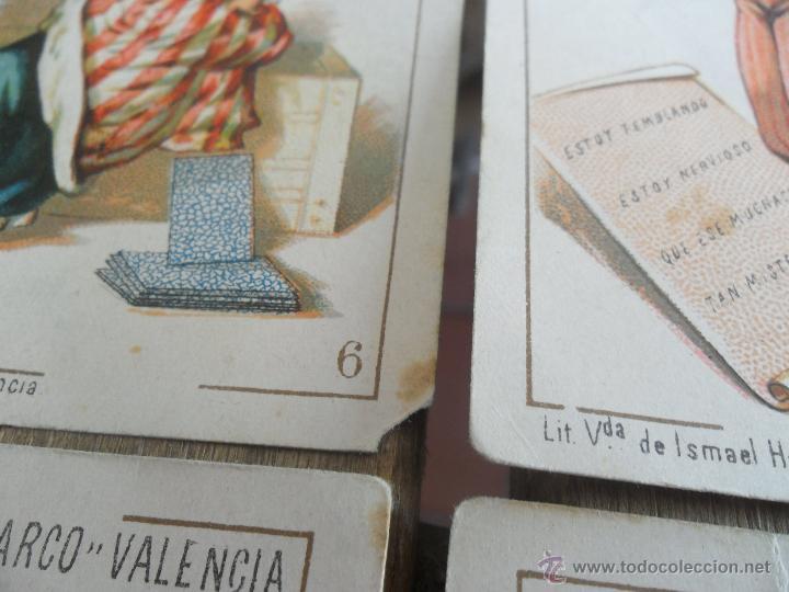 Barajas de cartas: BARAJA DE CARTAS COMPLETA FABRICA DE CHOCOLATES EL BARCO VALENCIA LA GRANDE - Foto 12 - 41781996