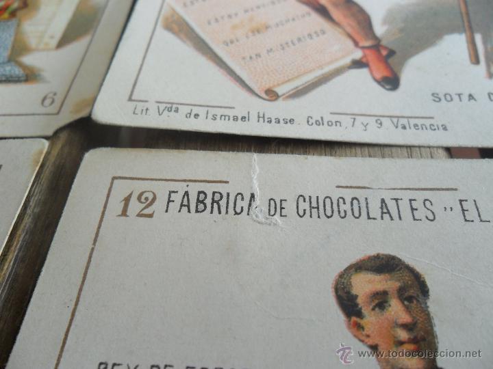 Barajas de cartas: BARAJA DE CARTAS COMPLETA FABRICA DE CHOCOLATES EL BARCO VALENCIA LA GRANDE - Foto 14 - 41781996