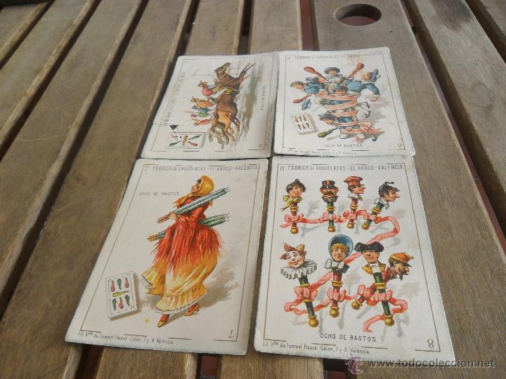 Barajas de cartas: BARAJA DE CARTAS COMPLETA FABRICA DE CHOCOLATES EL BARCO VALENCIA LA GRANDE - Foto 16 - 41781996