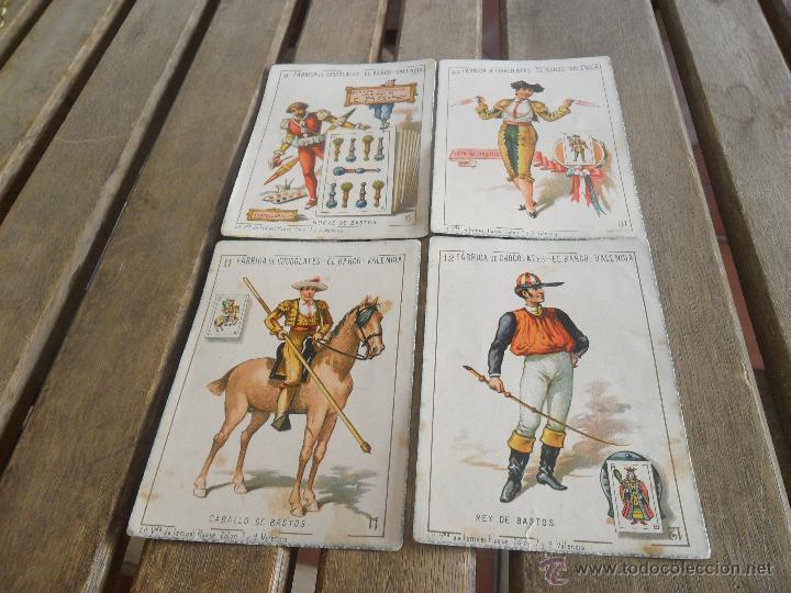 Barajas de cartas: BARAJA DE CARTAS COMPLETA FABRICA DE CHOCOLATES EL BARCO VALENCIA LA GRANDE - Foto 18 - 41781996