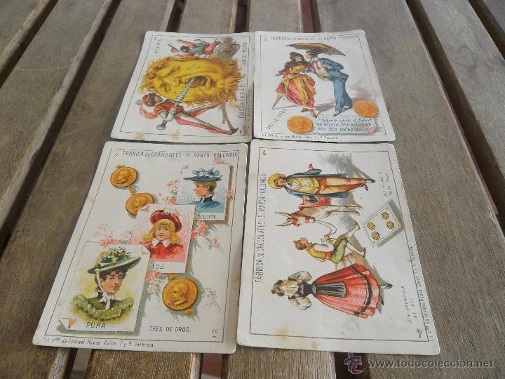 Barajas de cartas: BARAJA DE CARTAS COMPLETA FABRICA DE CHOCOLATES EL BARCO VALENCIA LA GRANDE - Foto 20 - 41781996