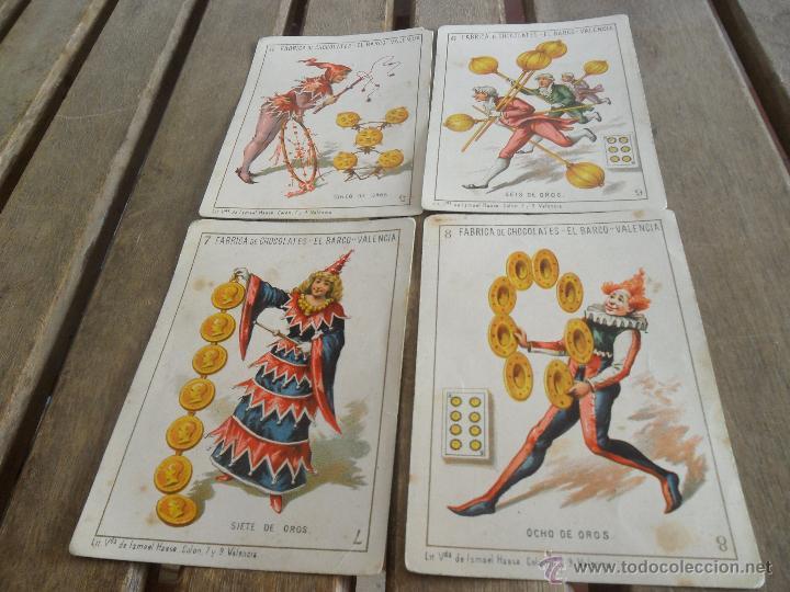 Barajas de cartas: BARAJA DE CARTAS COMPLETA FABRICA DE CHOCOLATES EL BARCO VALENCIA LA GRANDE - Foto 21 - 41781996