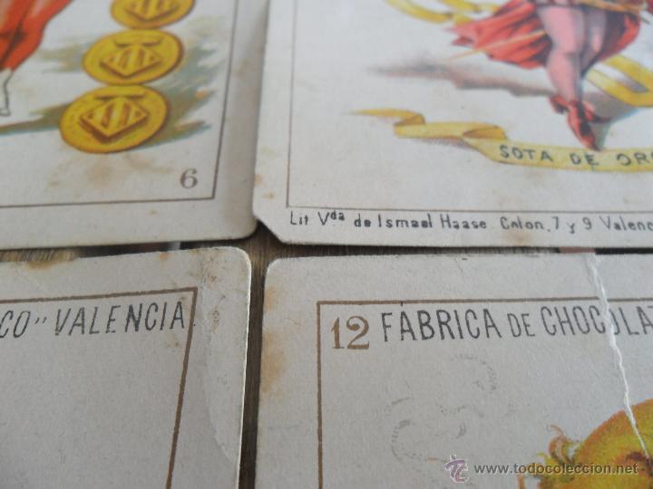 Barajas de cartas: BARAJA DE CARTAS COMPLETA FABRICA DE CHOCOLATES EL BARCO VALENCIA LA GRANDE - Foto 24 - 41781996