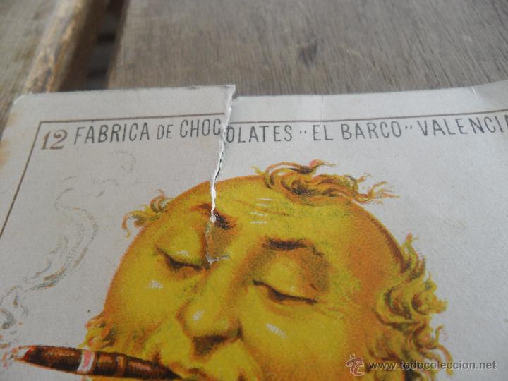 Barajas de cartas: BARAJA DE CARTAS COMPLETA FABRICA DE CHOCOLATES EL BARCO VALENCIA LA GRANDE - Foto 26 - 41781996