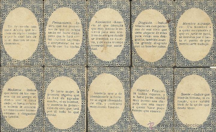 Barajas de cartas: BARAJA DE PREGUNTAS Y RESPUESTAS- COMPLETA 40 CARTAS- TAMAÑO MEDIANO MIDE 4,4 X 6,8 CM. -(CR-313) - Foto 9 - 41787003