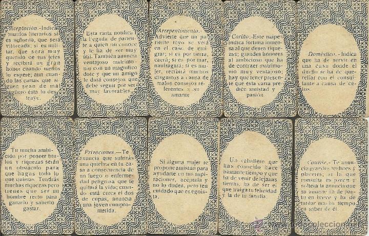 Barajas de cartas: BARAJA DE PREGUNTAS Y RESPUESTAS- COMPLETA 40 CARTAS- TAMAÑO MEDIANO MIDE 4,4 X 6,8 CM. -(CR-313) - Foto 11 - 41787003