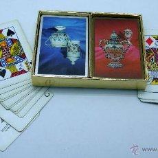 Barajas de cartas: BARAJA DOBLE PÓKER CONGRESS PLAYING CARDS USA CERÁMICA TALAVERA. Lote 41800229