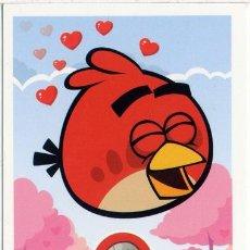 Barajas de cartas: CARTA ANGRY BIRDS RED - Nº8 - E-MAX - 2012. Lote 42025265