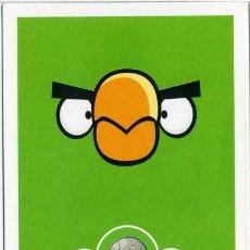 Barajas de cartas: CARTA ANGRY BIRDS HAL - Nº154 - E-MAX - 2012. Lote 42025407