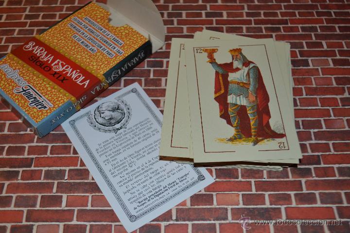 Barajas de cartas: BARAJA NAIPES FOURNIER BARAJA ESPAÑOLA SIGLO XIX - Foto 2 - 42030265