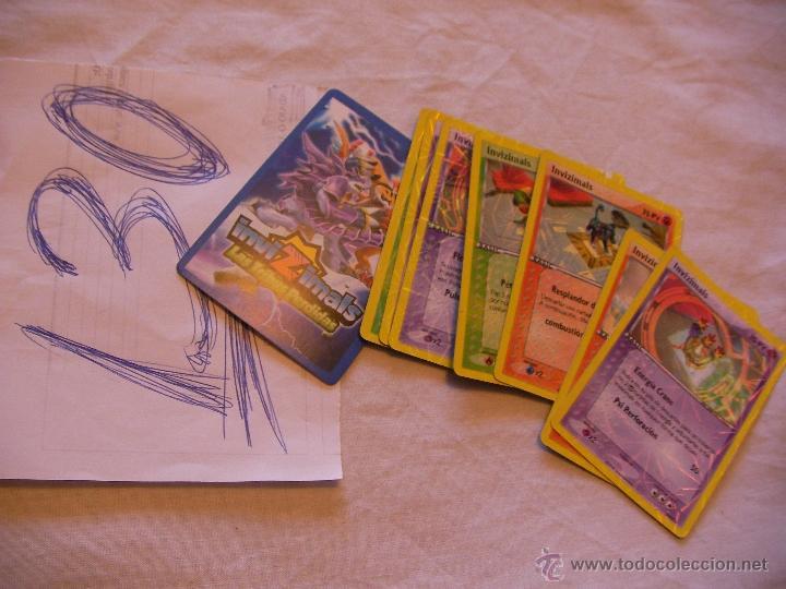 LOTE DE CARTAS INVIZIMALS - ENVIO GRATIS A ESPAÑA (Juguetes y Juegos - Cartas y Naipes - Otras Barajas)