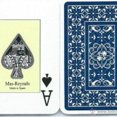 Barajas de cartas: BARAJA MAS-REYNALS, POKER. 54 CARTAS.. Lote 42069366