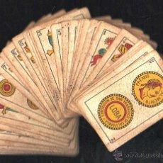 Barajas de cartas: BARAJA DE CARTAS DE LA LOBA. JUAN ROURA. 1928. COMPLETA. VER FOTOS. Lote 42191072