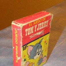 Barajas de cartas: EL JUEGO DE TOM Y JERRY BARAJA CARTAS INFANTIL EDICIONES RECREATIVAS SA. AÑO 1979. Lote 42209726